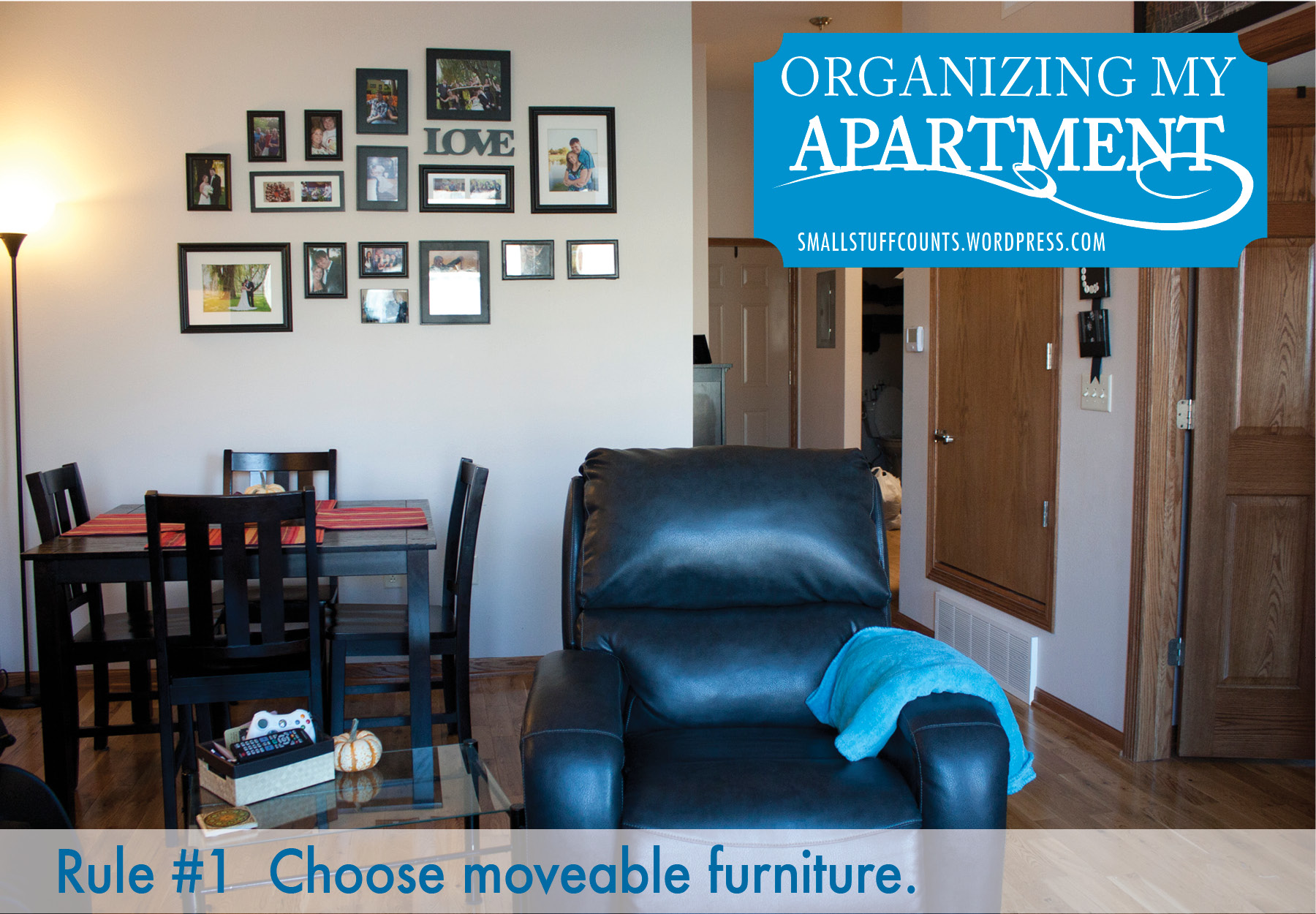 Organizing My Apartment {5 Rules For A Small Living Room ... on Small Apartment Organization  id=37594