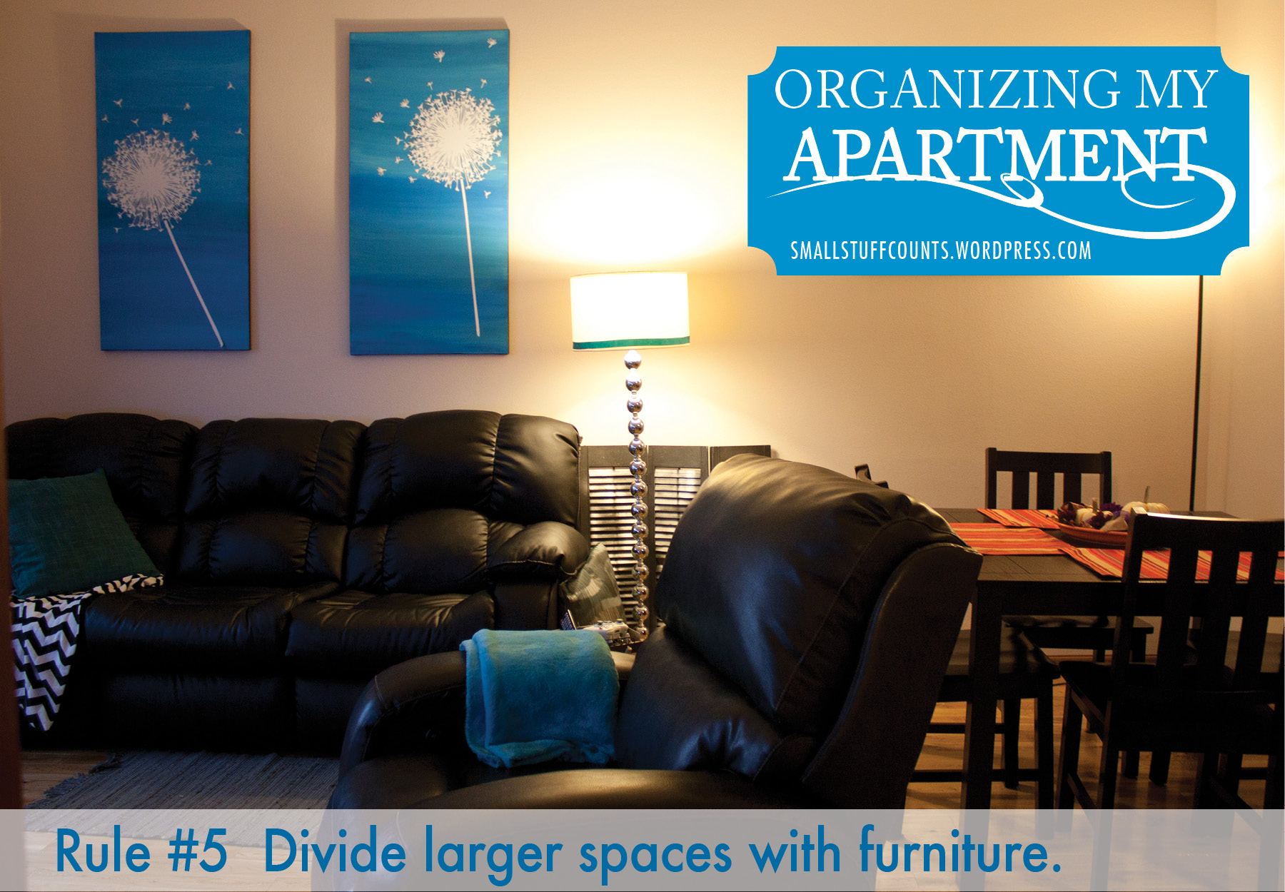 Organizing My Apartment {5 Rules For A Small Living Room ... on Small Apartment Organization  id=35226