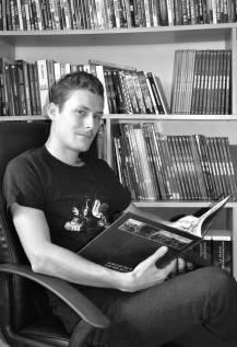 Paul Clément, jeune auteur des Décharnés