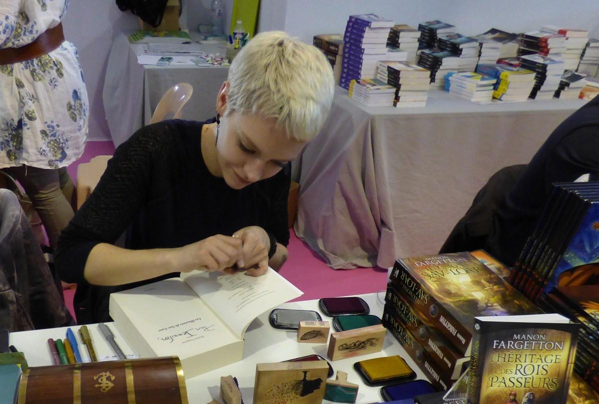 Aussi libre qu'un rêve, le premier livre de Manon Fargetton