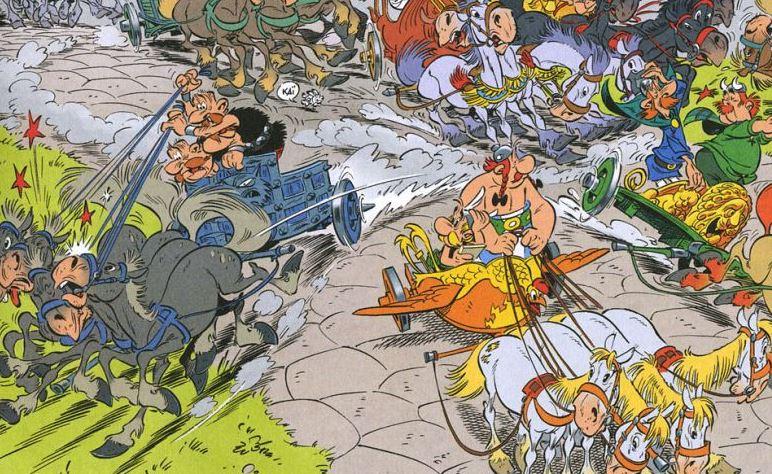 Astérix et la Transitalique : Astérix en perte de vitesse?