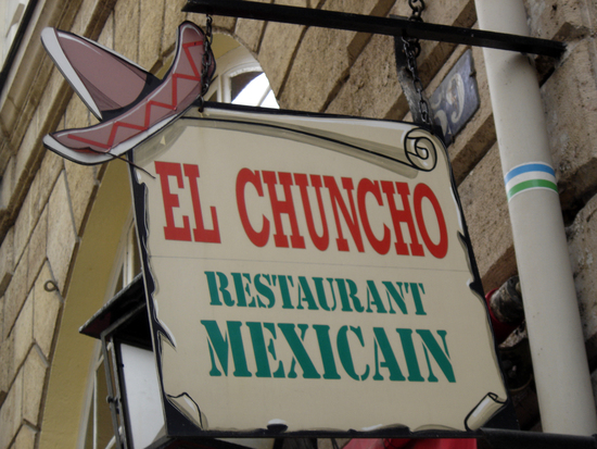 Tex-Mex - El Chuncho - Paris