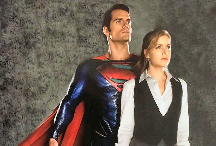 Superman - Man Of Steel : Lois et Superman ensemble en couverture