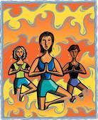 yogini - Venez vous faire suer au yoga bikram !