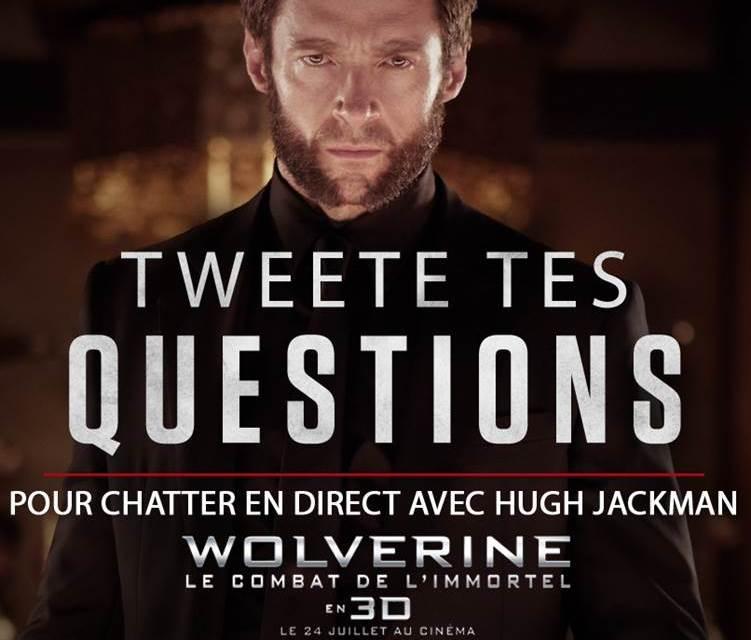 Wolverine : LiveChat aujourd'hui !