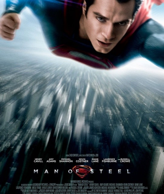 Man Of Steel : nouvelle affiche