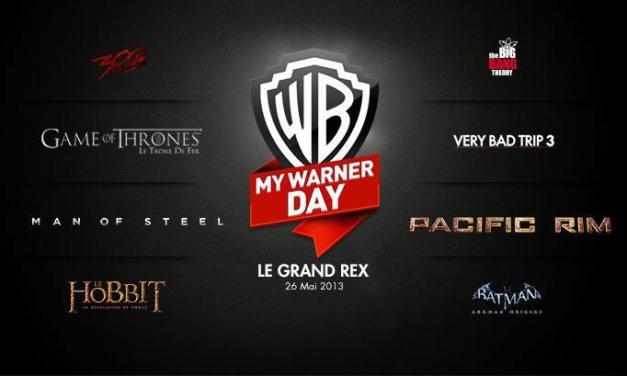 My Warner Day : retour sur l'événement
