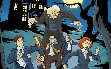 comics - X-Files saison 10 #4 XFiless10 04 cvrRI