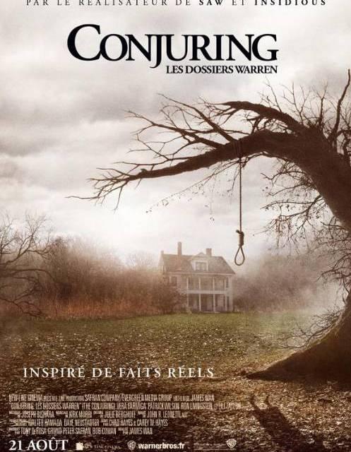 Conjuring : 40 ans d'épouvante nous contemplent
