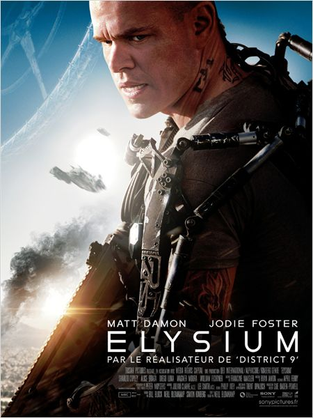 science fiction - Elysium, allégorie ratée mais divertissante