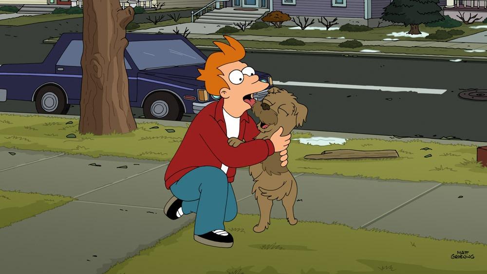 futurama saison 7 - Futurama - 7x23 - Game Of Tones Futurama Game of Tones Fry Licking Seymour