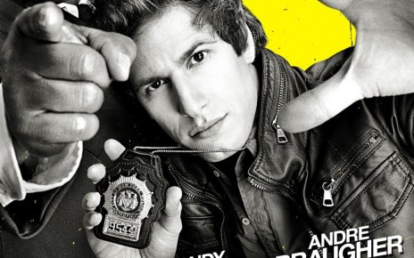 andy samberg - Brooklyn Nine-Nine - 1x01 - The (Police) Office Brooklyn Nine Nine affiche