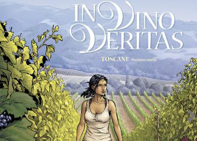 glénat - In Vino Veritas, tome 1 d'une nouvelle BD sur le vin Capture couv