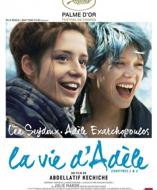 Abdellatif Kechiche - La Vie d'Adèle, vraiment PHOTO Le poster officiel de La Vie d Adele portrait w532