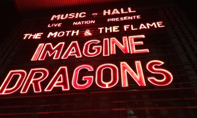 Imagine Dragons en concert à l'Olympia