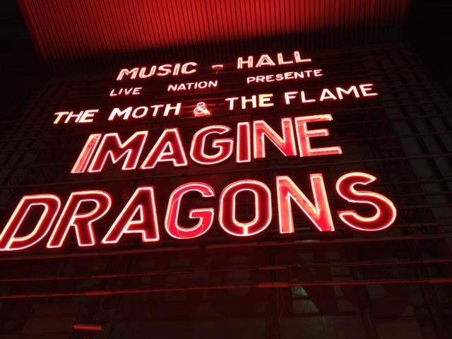 Imagine Dragons en concert à l'Olympia