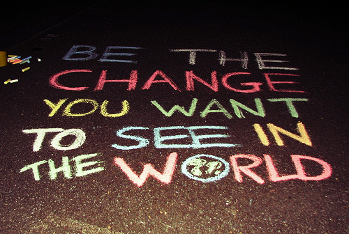 [Be The Change] Le monde autrement ?