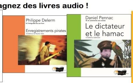 laurent gaudé - [Concours ] Gagnez 10 livres audio avec Lire dans le noir ! bannière livre audio