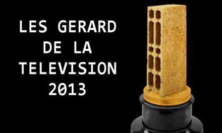 Les Gérard de la télévision : le palmarés