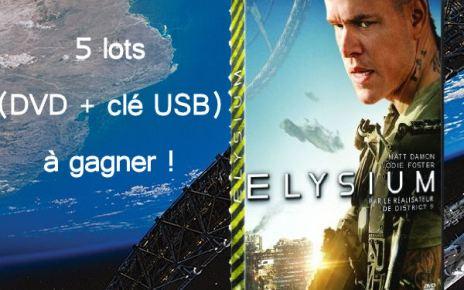 concours - [Terminé] Gagnez des DVD et clés USB ELYSIUM ! concourselysium