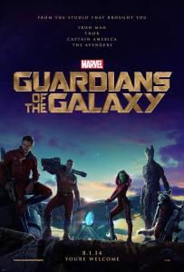 affiche gardiens galaxie