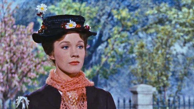 """Julie Andrews décrochera l'Oscar de la meilleure actrice, en 1964, pour son premier film. Elle sera ensuite engagée pour """"La Mélodie Du Bonheur""""."""