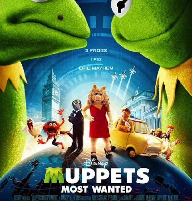 kermit the frog - Muppets Most Wanted : Mauvais Baisers (Bien Baveux) de Russie Muppets Most Wanted poster 2852062