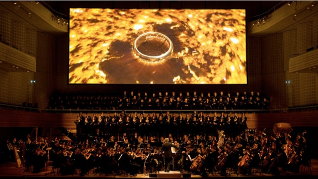 Le Seigneur des Anneaux, l'expérience du ciné-concert