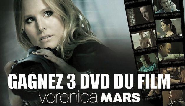 [TERMINE] Concours : 3 DVDs de Veronica Mars le film à gagner