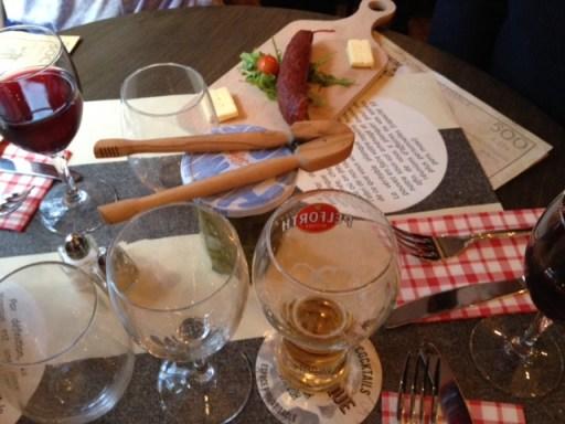 Vous prendrez bien une p'tite bière ? Un p'tit chozizo entier à la Planque ?