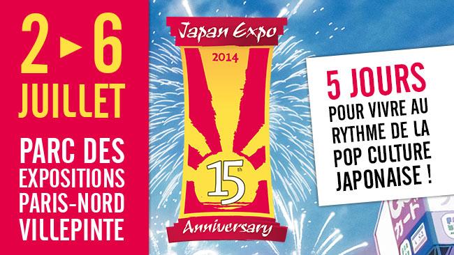 Japan Expo 2014 : 15 ans et pas près de grandir ?