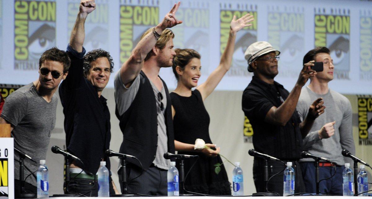 sdcc 2014 - Comic-Con 2014 : Avengers 2 se dévoile avengers panel san diego comic con