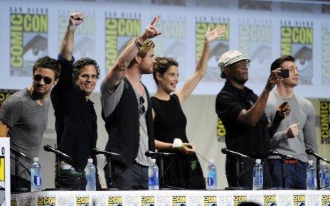 avengers 2 - Comic-Con 2014 : Avengers 2 se dévoile avengers panel san diego comic con