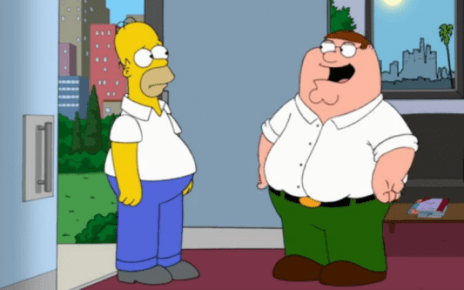 crossover - Quand les Simpson rencontre les Griffin family guy simpsons