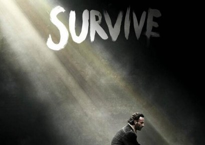 saison 5 - Comic-Con 2014 : The Walking Dead tease la saison 5 the walking dead poster survive saison 5
