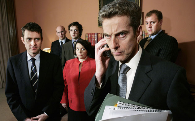 BBC - The Thick of It : l'ouragan Capaldi The Thick Of It