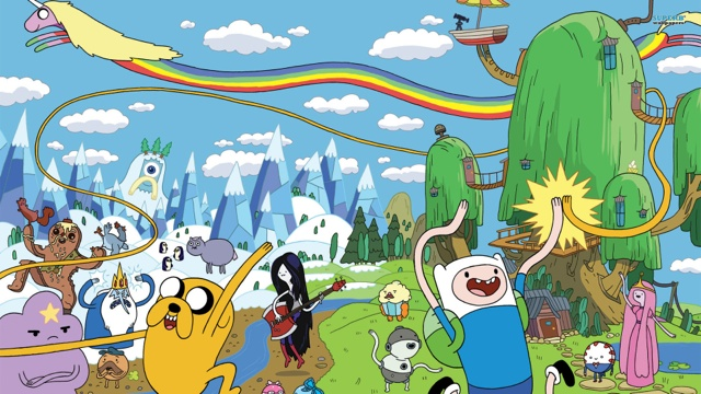adventure time - Adventure Time : le meilleur de l'animation at
