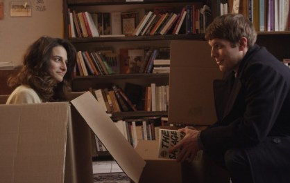 Donna en carton et Max, dans Obvious Child