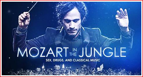 Mozart in the Jungle : la chasse est ouverte !