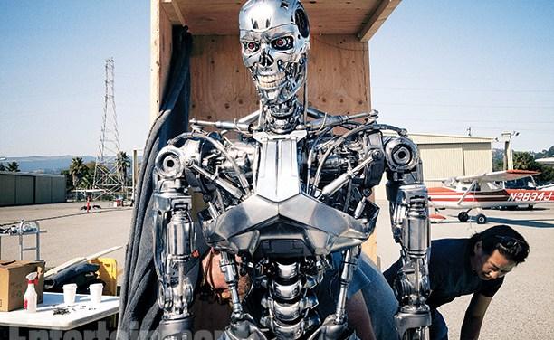 Arnold en T-800 pour Terminator : Genisys