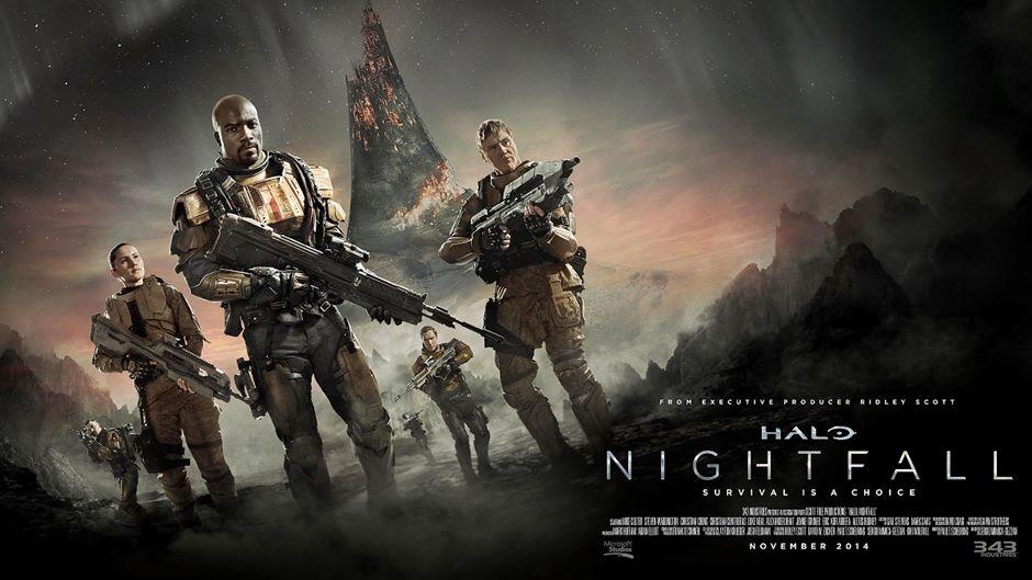 Halo + Ridley Scott = Nightfall