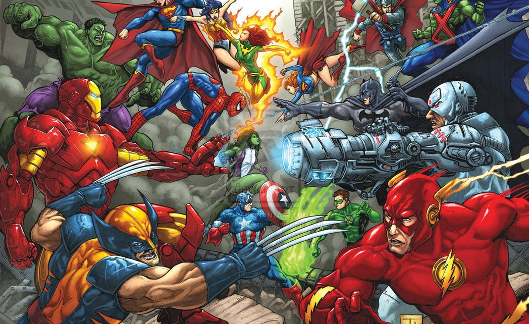 dc comics - DC / Warner ont un plan Marvel vs DC