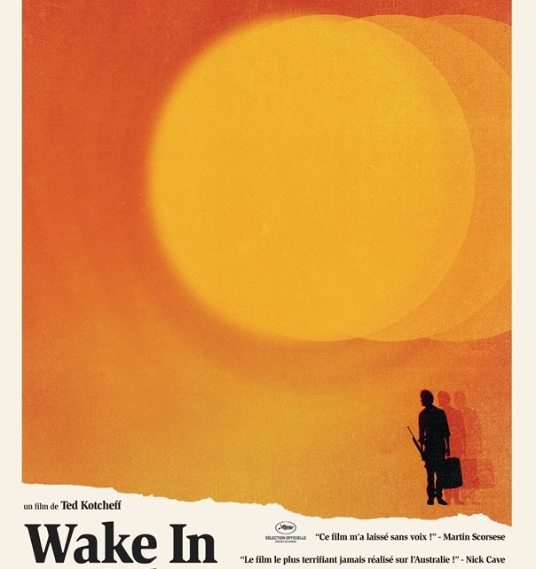 wake in fright - Wake In Fright : quand t'es dans le désert.... Affiche Wake In Fright