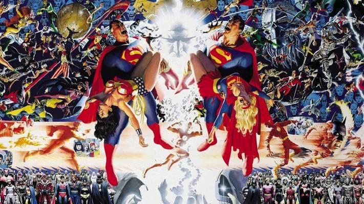 dc - Et si DC prenait en compte le multiverse ? DC Crisis cover