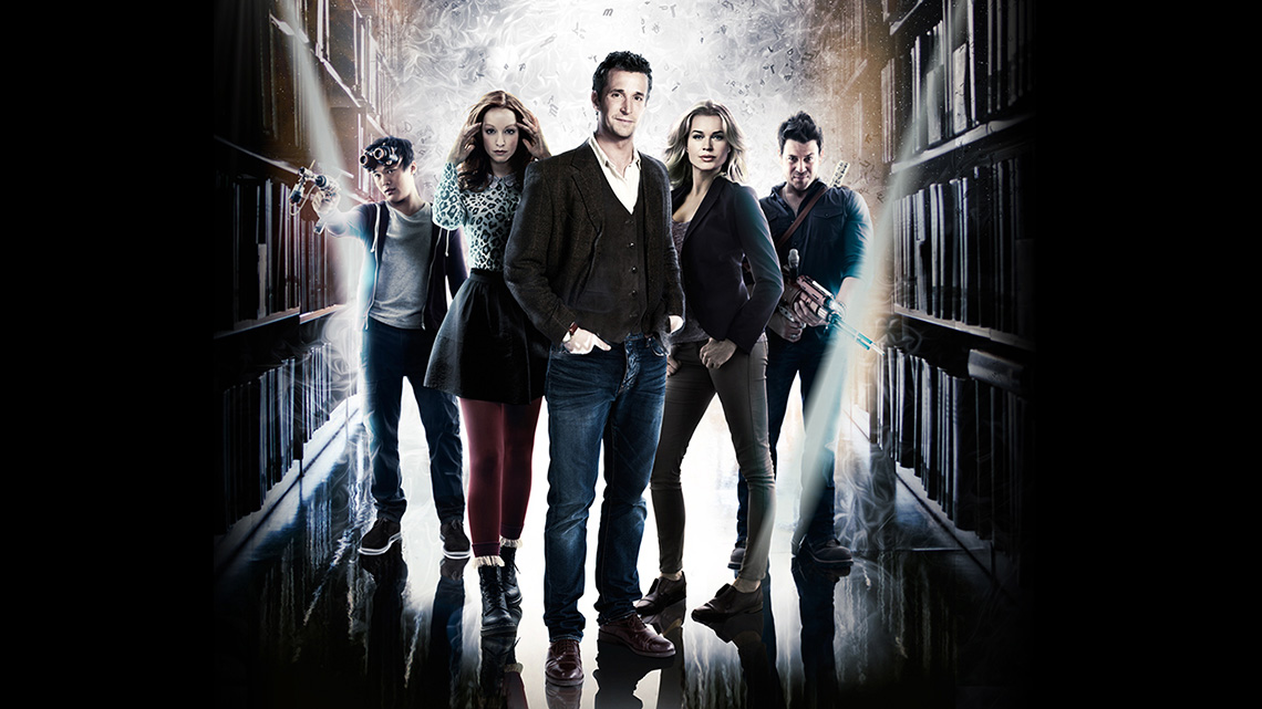 adaptation - The Librarians 1x01 And The Crown of King Arthur The Librarians Keyart 16x9 1