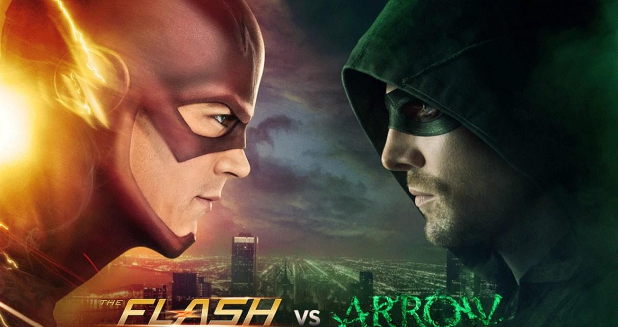 arrow - Arrow et Flash de retour dans deux trailers explosifs flashvsarrow