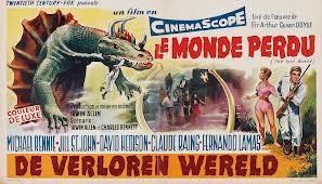 """dinosaures - """"Le Monde Perdu"""" d'Irwin Allen (1960) : la ressortie DVD Allen"""