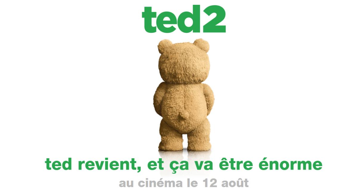 ted - TED 2: la bande-annonce ratée