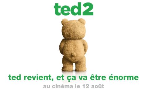 seth macfarlane - TED 2: la bande-annonce ratée affiche ted 2