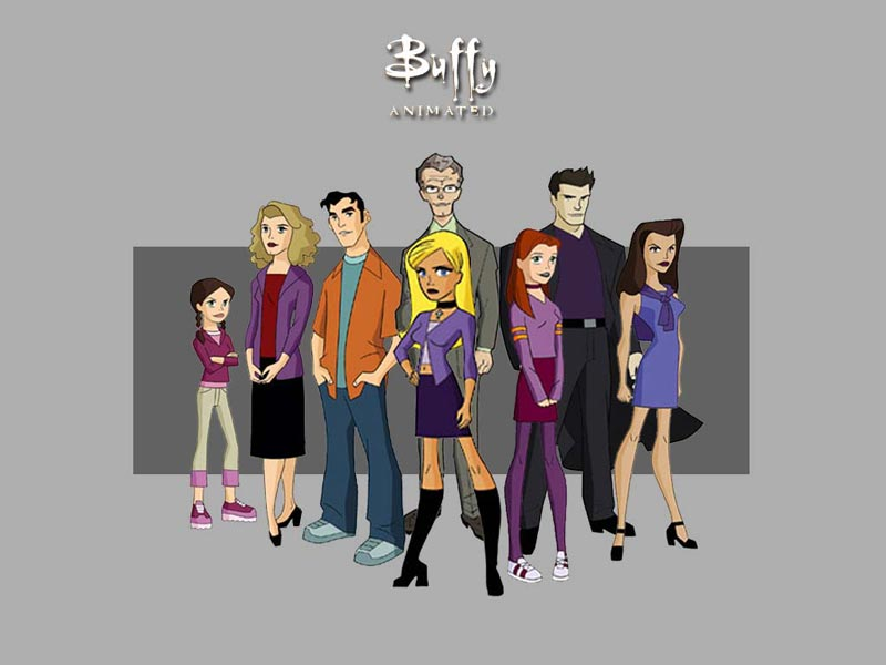 univers etendu - UE : Buffy The Animated Series buffyanimatedgroup 0800